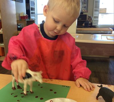 Painting With Cows - Proudly Recognized As An Early Learning Leader