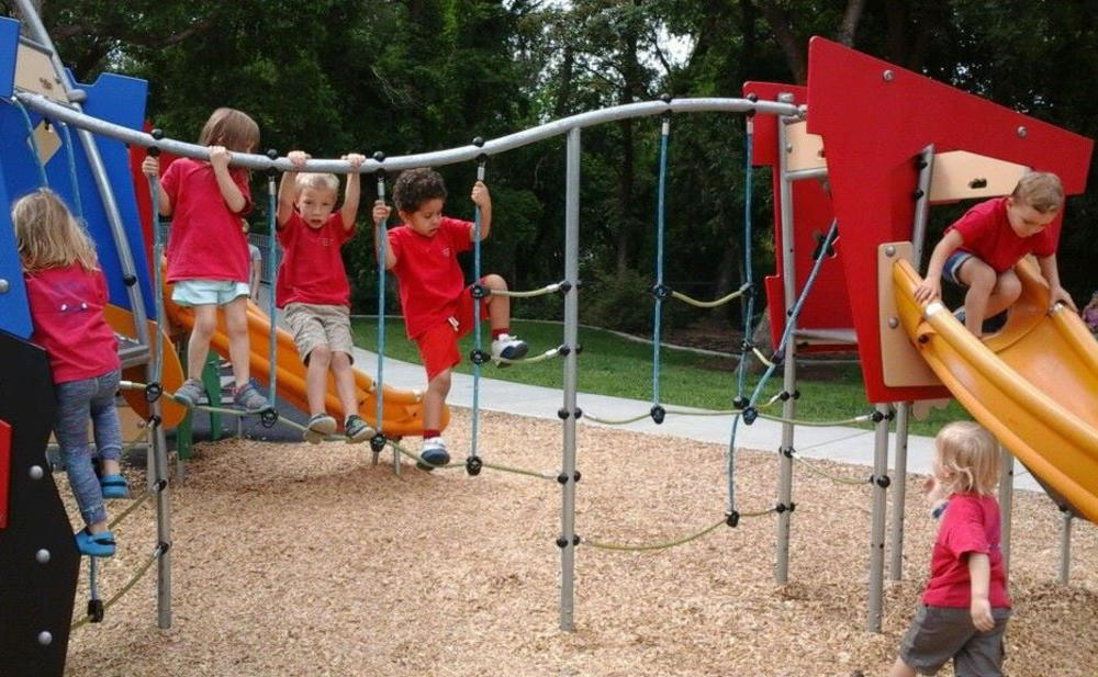 An Age-Appropriate Playground Ready For Outdoor Exercise - Preschool & Childcare Center Serving Salt Lake City, UT
