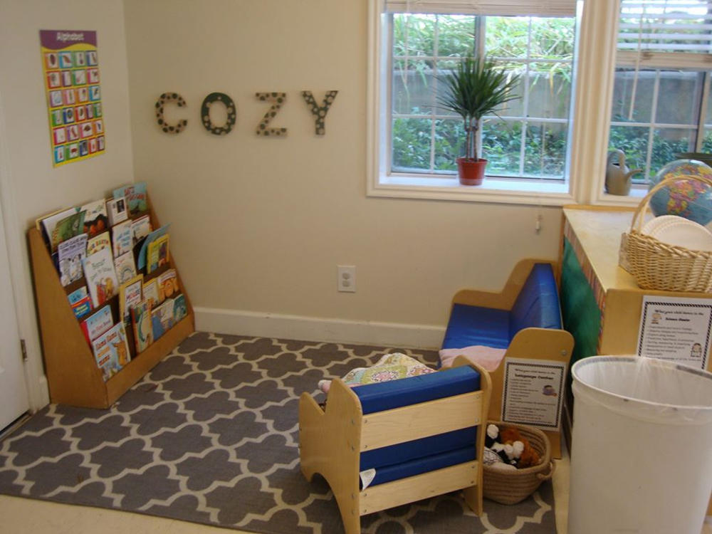 Curl Up With A Book And A Buddy In The Cozy Corner - Preschool & Childcare Center Serving Salt Lake City, UT